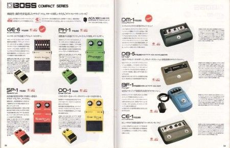TONEHOME - the World of Vintage Guitar Effect Pedals - Boss Effects