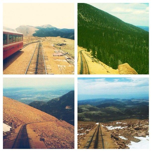 Pikes Peak In Colorado Springs: 156 Best Pike's Peak, Colorado Images On Pinterest