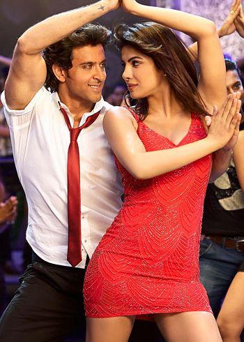 Hrithik Roshan-Priyanka Chopra kissing scene in Krrish 3!
