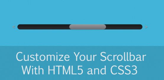 Customize Your Scrollbars with CSS3 and jQuery
