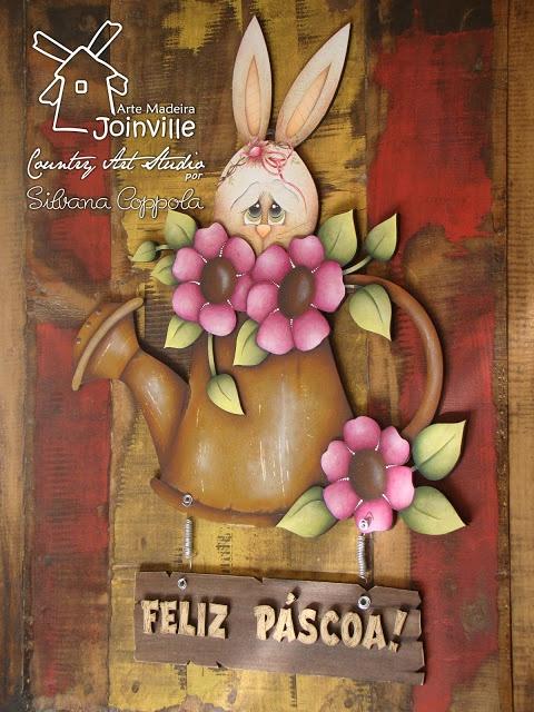 Arte Madeira Joinville: Páscoa 2012