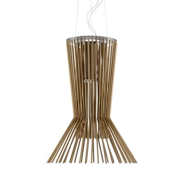 Lámpara suspension de diseño moderno ideal para el comedor de la casa moderna con mucha iluminación.