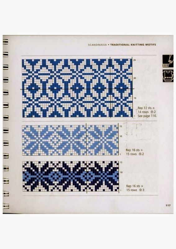 1320 best fair isle images on Pinterest | Knitting charts, Fair ...