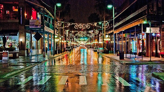 7th Avenue in Ybor City (Tampa, Florida) has been ranked one of the Top 10 streets in the nation. http://www.lonelyplanet.com/usa/florida/tampa/sights/museums-galleries/ybor-city-museum-state-park
