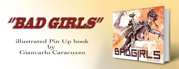 BAD GIRLS, illustrated Pin Up book | Indiegogo