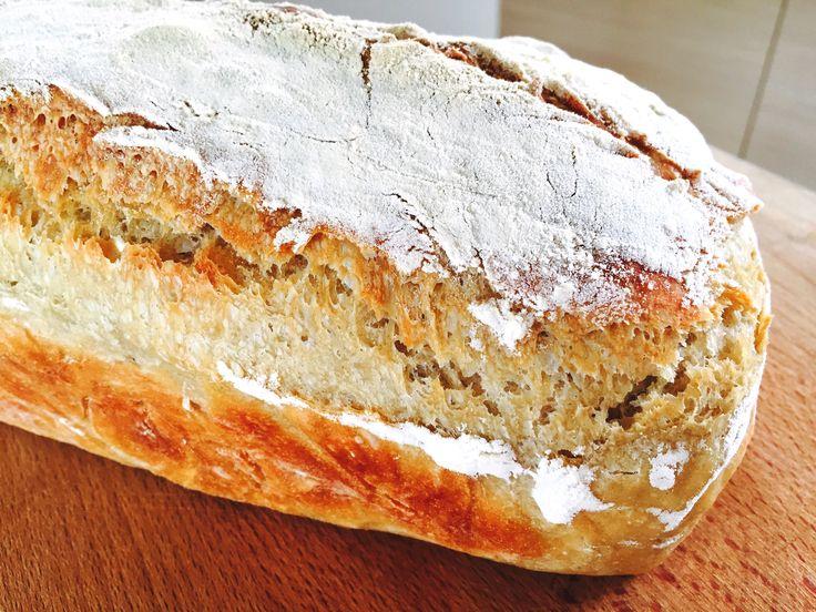 Oppskrift eltefritt brød uten gryte