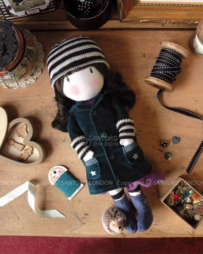 Gorjuss Cloth Doll - Toadstools