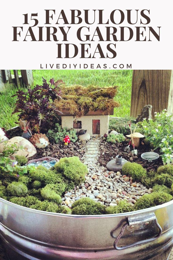 15 Fabulous Fairy Garden Ideas