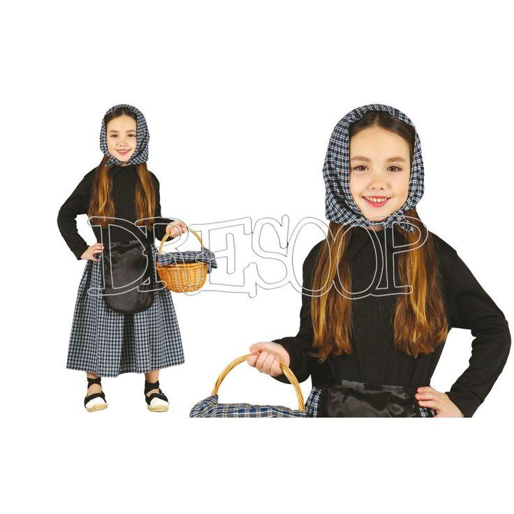 Disfraz Castañera para niñas - Dresoop.es