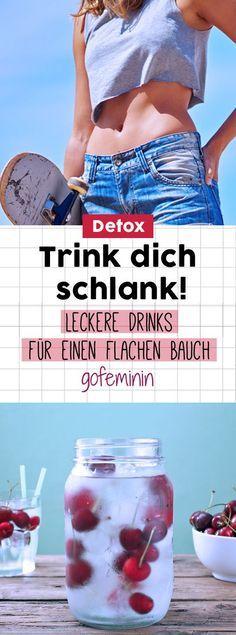 Mit diesen Getränken schrumpft das Bäuchlein wie von allein! – diät