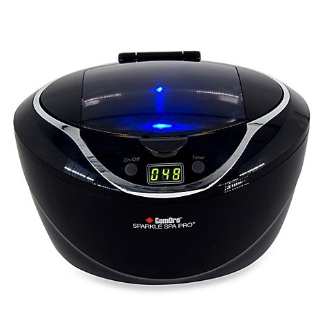 Taking care of your prized jewelry just got easier with this true professional grade personal ultrasonic jewelry cleaner. It utilizes powerful and supremely efficient ultrasonic sound waves to quickly clean and give your jewelry a sparkling new look.