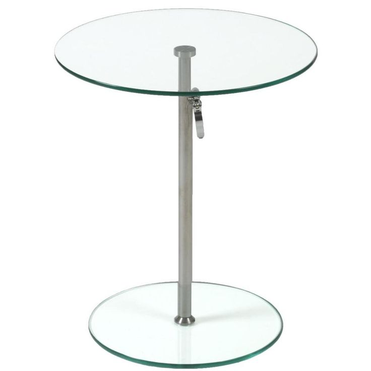 rafaella round glass side plant stands and telephone tables