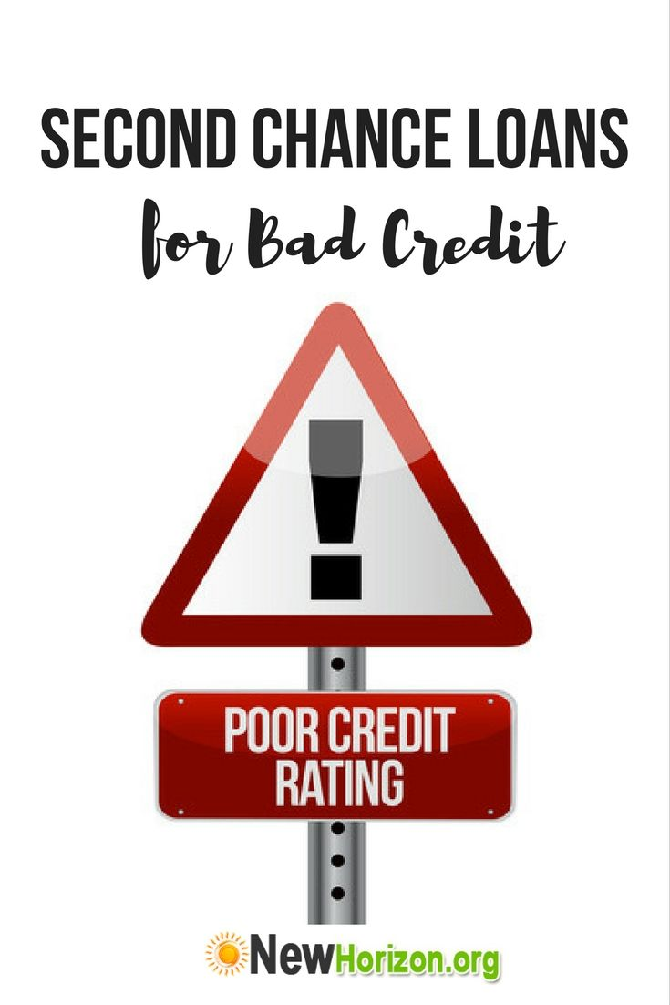Second Chance Loans for Bad Credit / Second Chance Credit Card for Bad Credit
