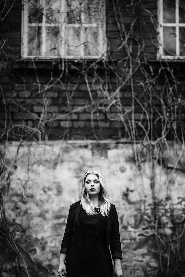 Awesome Marika. (c) Minna Kaita Photo #photography #blackandwhite #bw #drama #glamour #beauty