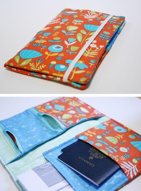 A documents travel case. Want to sew this up soon, then use it to take a trip!