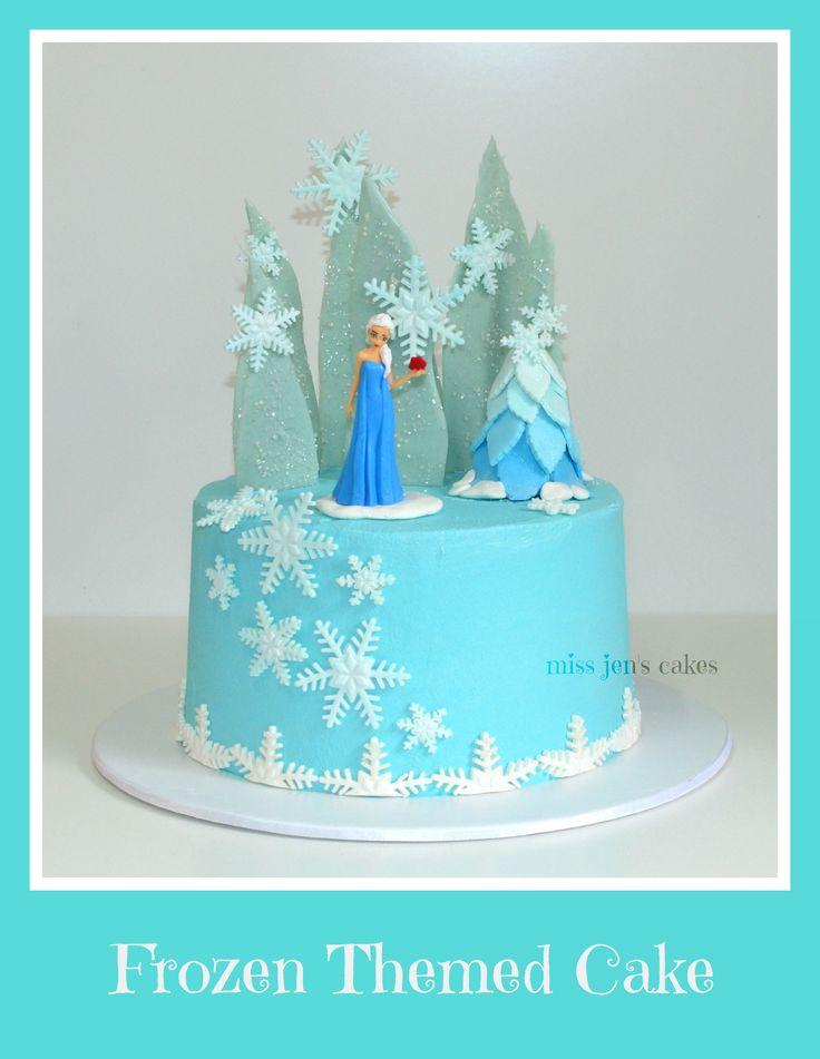 Disneys Frozen Layer Cake