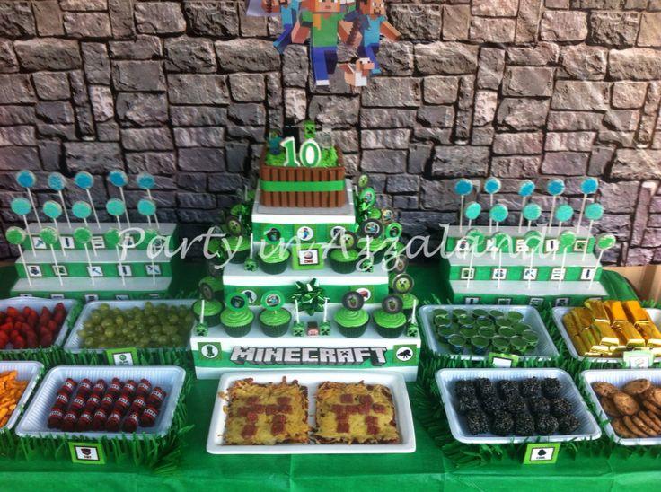 Minecraft sweet table
