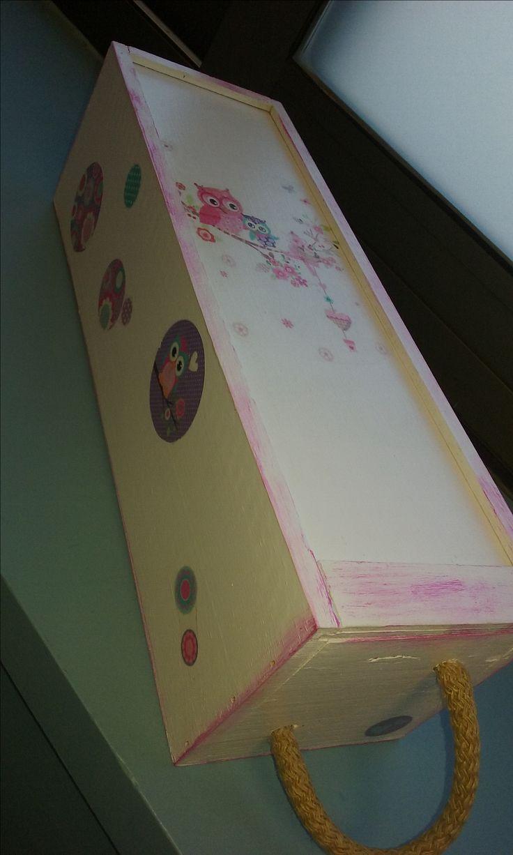 Transfer box - Owls Caixa amb transferències - Mussols