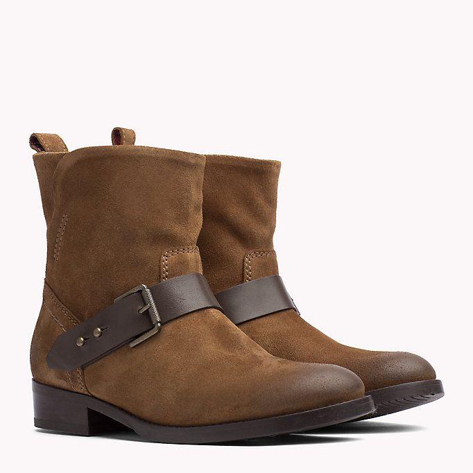 TOMMY JEANS Botas de ante - WINTER COGNAC-COFFEE BEAN - TOMMY JEANS Zapatos - imagen principal
