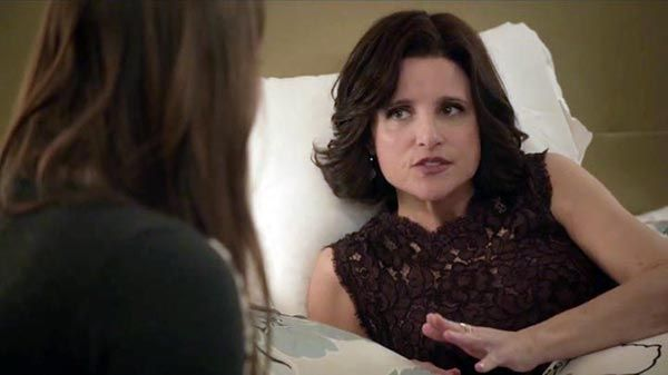 Julia Louis-Dreyfus claims her fourth straight Emmy for new presidential role on 'Veep'