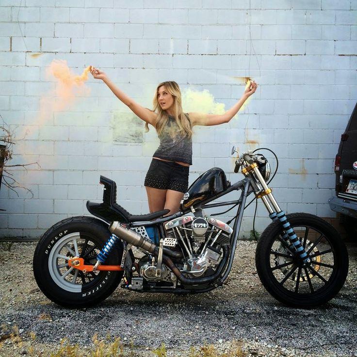 Pin on Babes & Bikes