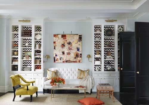 La interiorista Christina Murphy ha sido la encargada de crear este genial espacio en un apartamento de Park Avenue. http://tucajonvintage.blogspot.com.es/ #hometour #deco #decoracion #interiordesing
