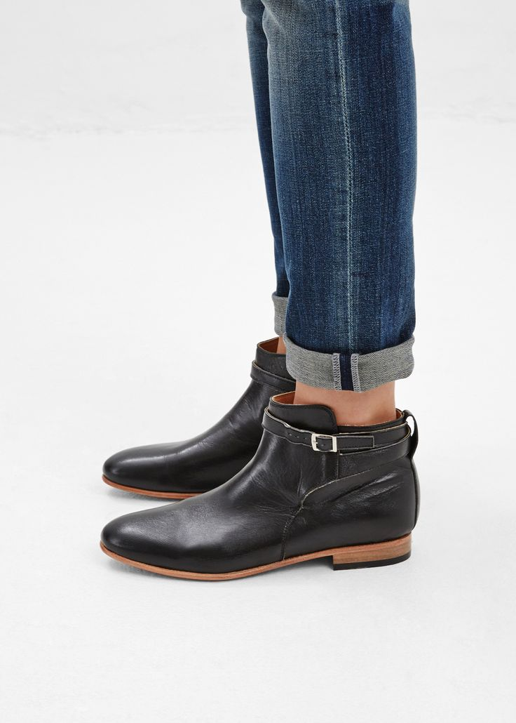17 best ideas about flat ankle boots on flat