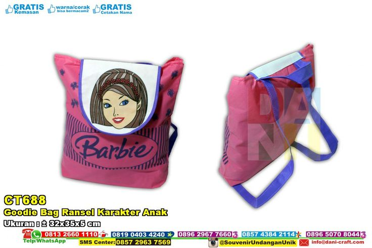 Goodie Bag Ransel Karakter Anak WA/SMS/TELP 0813 2660 1110 Pin BB 59E 8C2 B6 #GoodieBag #DistributorBag #desainundanganPernikahan #souvenirMurah