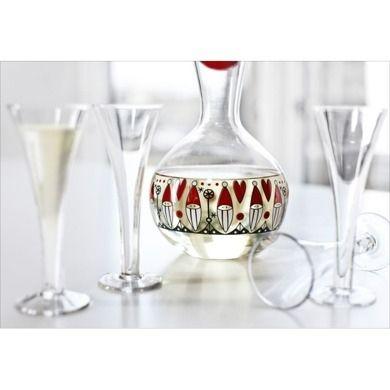 Sagaform - karafka szklana Christmas