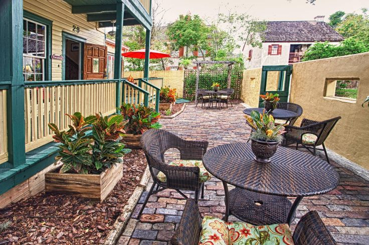 Agustin inn bed and breakfast st augustine florida for Flooring st augustine