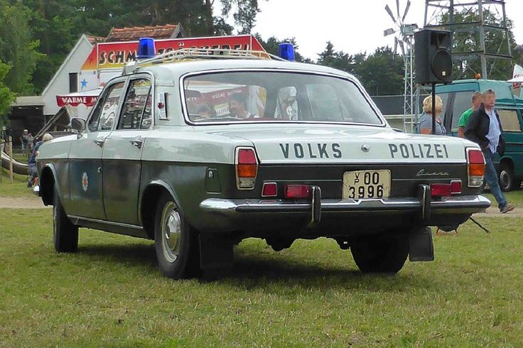 1967 Wolga GAZ 24 FuStW Funkstreifenwagen der Volkspolizei der DDR (VoPo) - République Démocratique Allemande