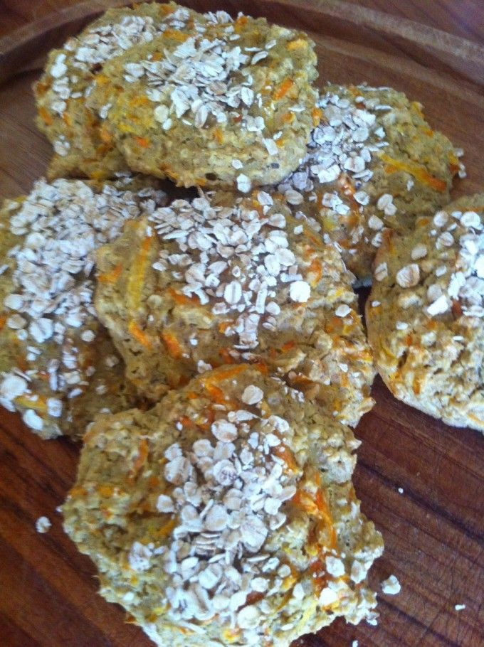 Grove og lækre havregrynsboller med gulerødder på blot 30 min.