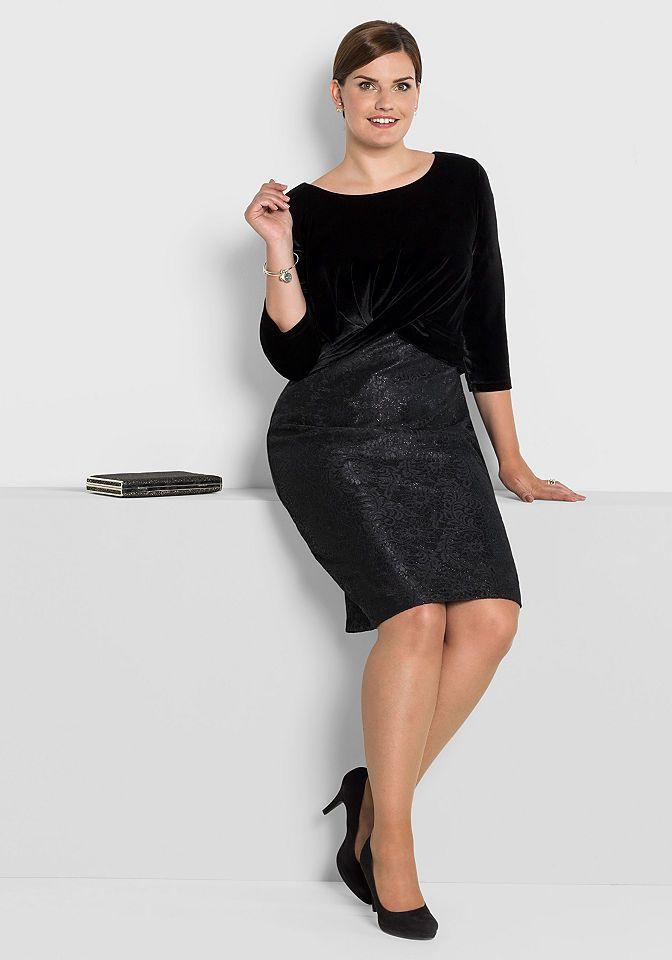 sheego Style Partykleid Jetzt bestellen unter: https://mode.ladendirekt.de/damen/bekleidung/kleider/partykleider/?uid=a082622c-931b-593e-ac9e-347309ea2f18&utm_source=pinterest&utm_medium=pin&utm_campaign=boards #kleider #partykleider #bekleidung