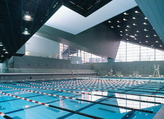 University of cincinnati campus recreation center architect morphosis kzf design photo for University of cincinnati swimming pool