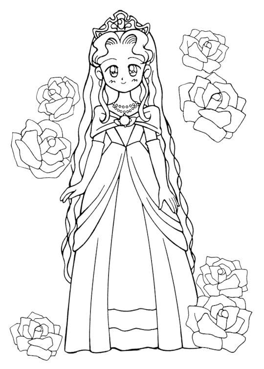 17 best images about fairy tale coloring pages on pinterest dovers princess coloring pages. Black Bedroom Furniture Sets. Home Design Ideas