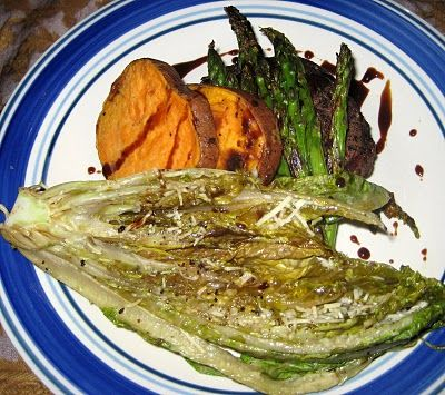 Grilled Romaine Lettuce