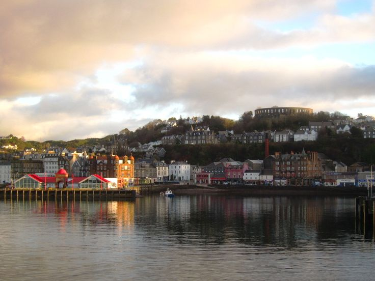 Oban, view from CalMac Ferry