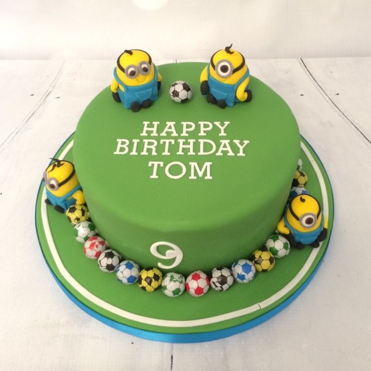 Minion Birthday Cake Uk