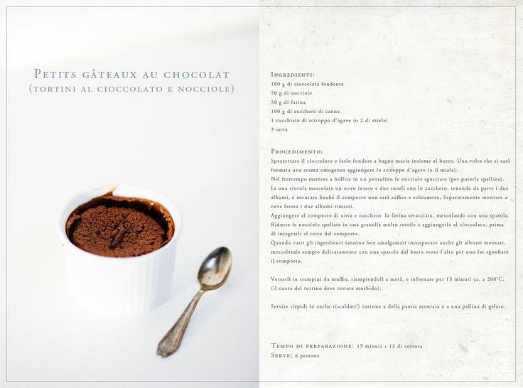 Il  tortino di cioccolato con cuore fondente, o alla francese: gâteaux moelleux au chocolat!