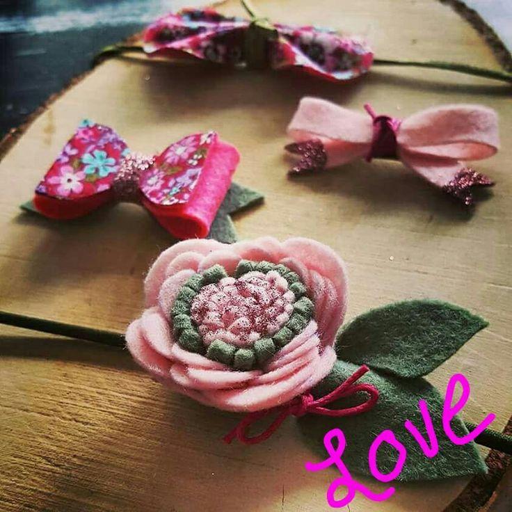 #HipjeKnipje #haarknipjes #haaraccessoires #meiden #hip #baby #newborn #peuter #zomer #outfit #flowers #vilt #felt #glitter #glitters #roze #pink #green #groen #colours #kleur #webshop