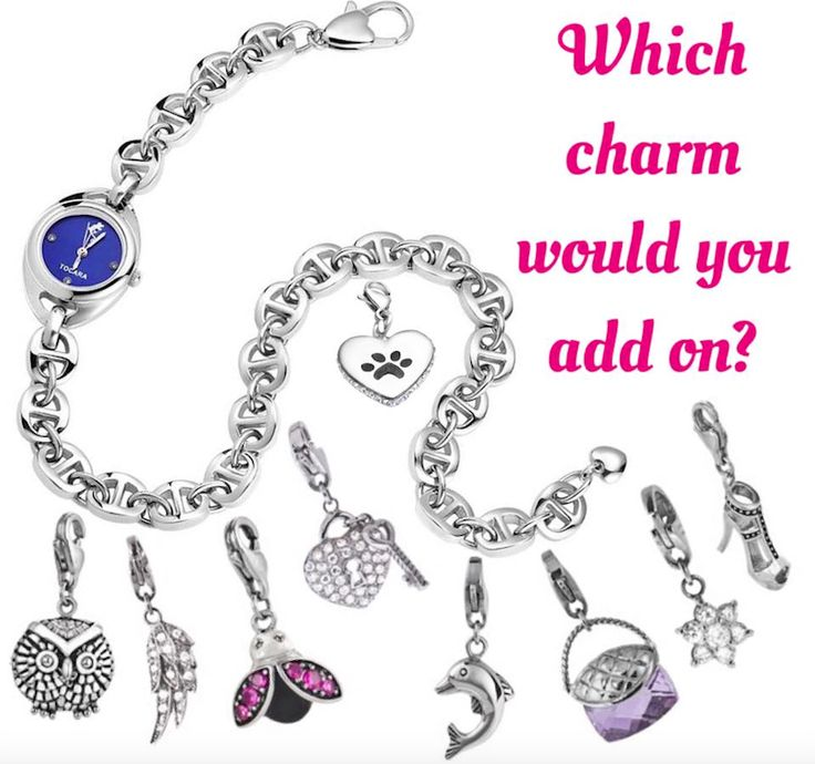 October Hostess might choose the wrap watch and what better way to make it your own then to add a charm or two.