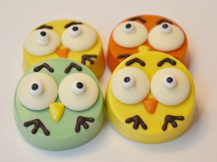 Owl Chocolate Covered Oreos (12 Oreos) , Owls, Owls Oreos, Owl Treats, Bird Oreos, Owl baby shower, Owl cookies, Owl gifts by ChocolatesUnlimited on Etsy