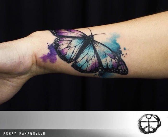 1001 Idees Avec Images Tatouage De Papillon Tattoo