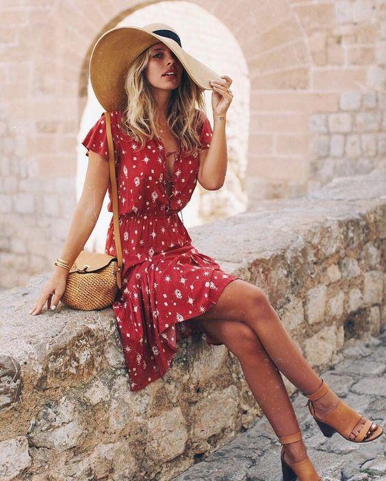 15 süße mädchenhafte Kleider für diesen Sommer – Outfit Ideen