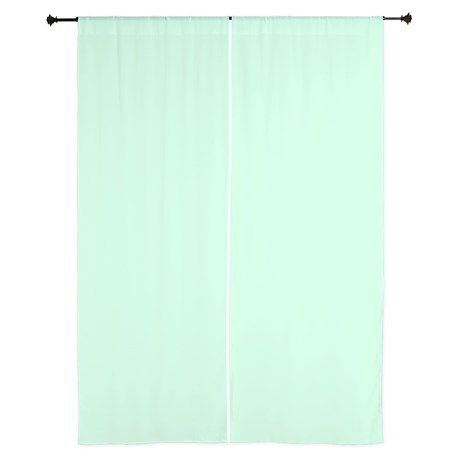 cute mint green curtains