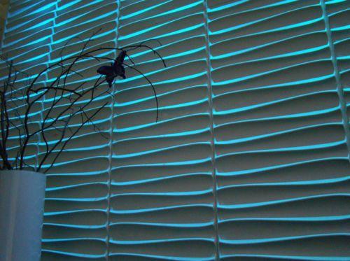Die besten 25 3d wandplatten ideen auf pinterest strukturierte wandpaneele 3d fliesen und - Styropor deko wandplatten ...