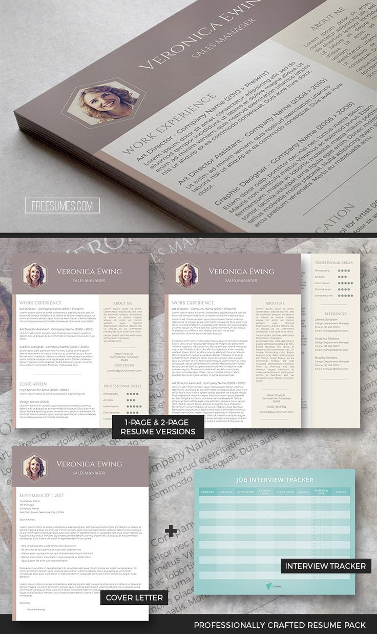 medical resume format%0A Professional Resume Template Set