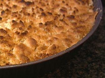 Recepten - Crumble met appel en peer