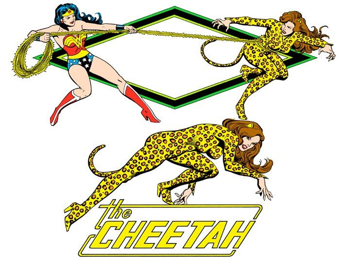 Cheetah by José Luis García-López from the 1982 DC Comics Style Guide