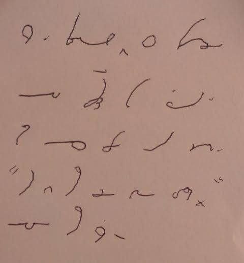 how to write shorthand notation